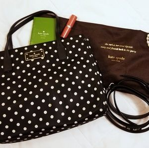 Kate Spade Small Dot Loden Blake Ave